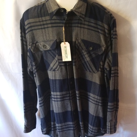 Outdoor Life Other - NWT Outdoorlife Mens Brawny Flannel Shirt